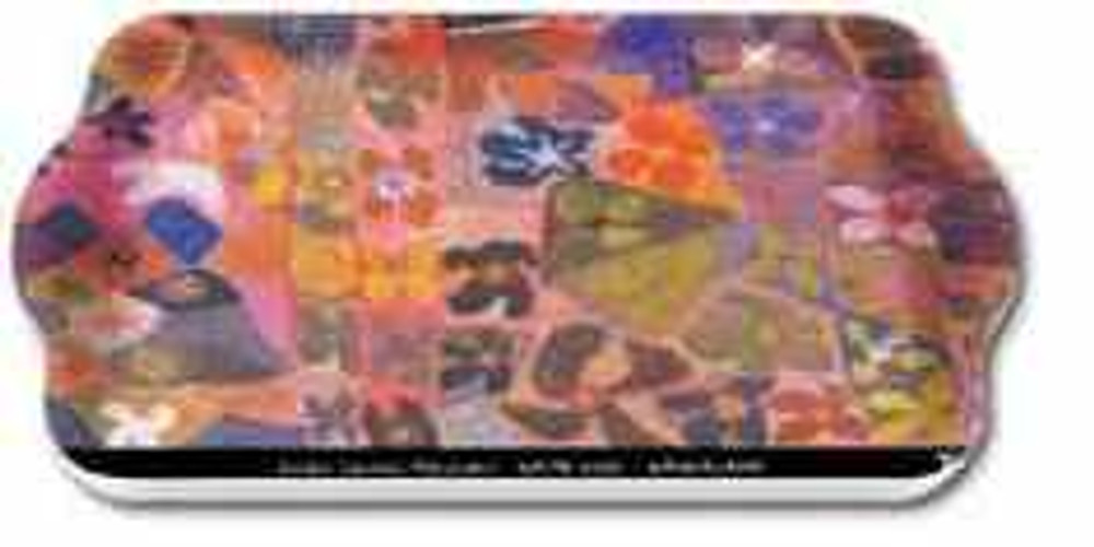 Waterlilies (Dreaming Country) Melamine Scatter Tray