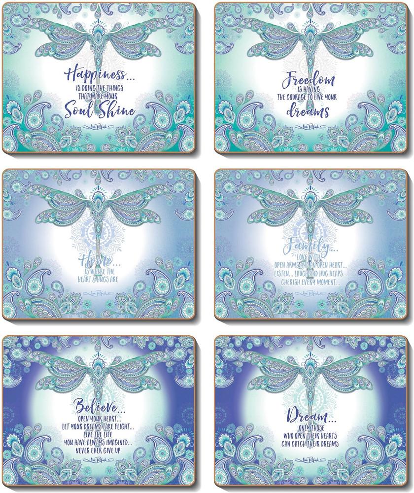 Dragonfly Dreams Coasters
