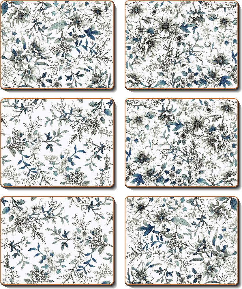 Umbria Blue Coasters