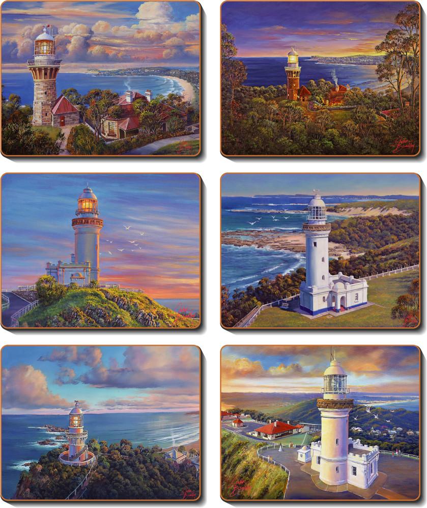 Coastal Icons Coasters