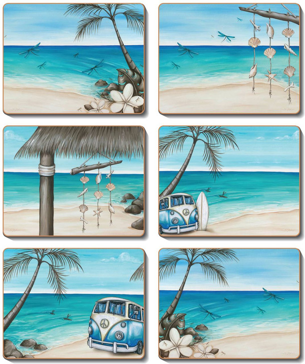 Paddle Bliss Placemats