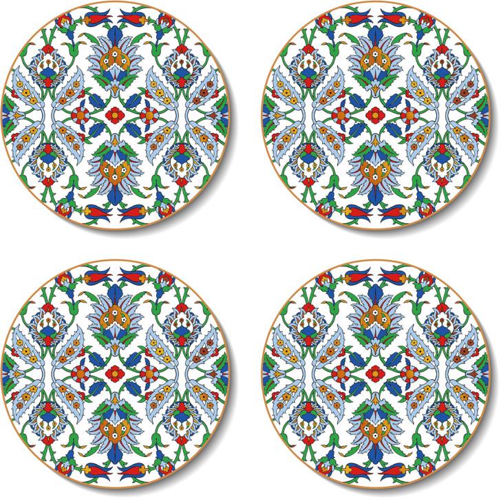 Round Dubai Coasters