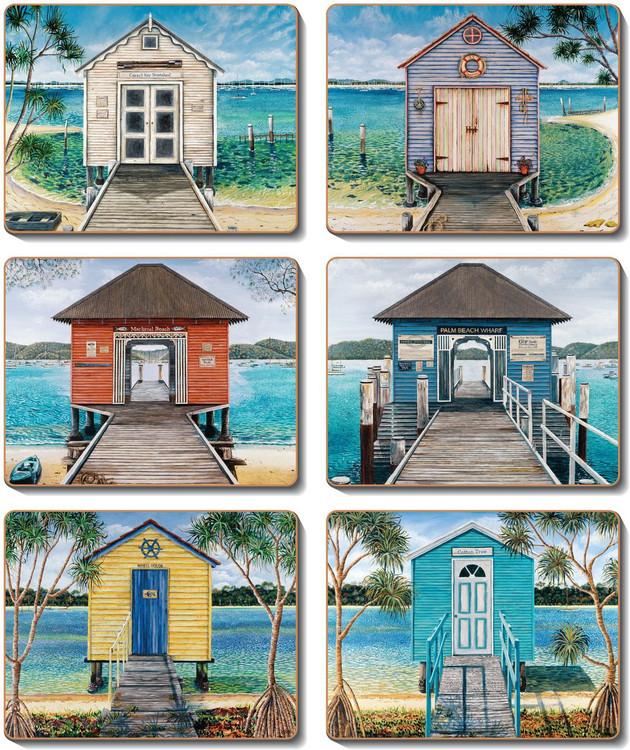 Boathouses Coasters