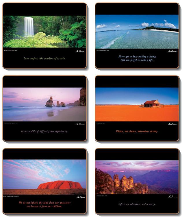 Australia Coasters