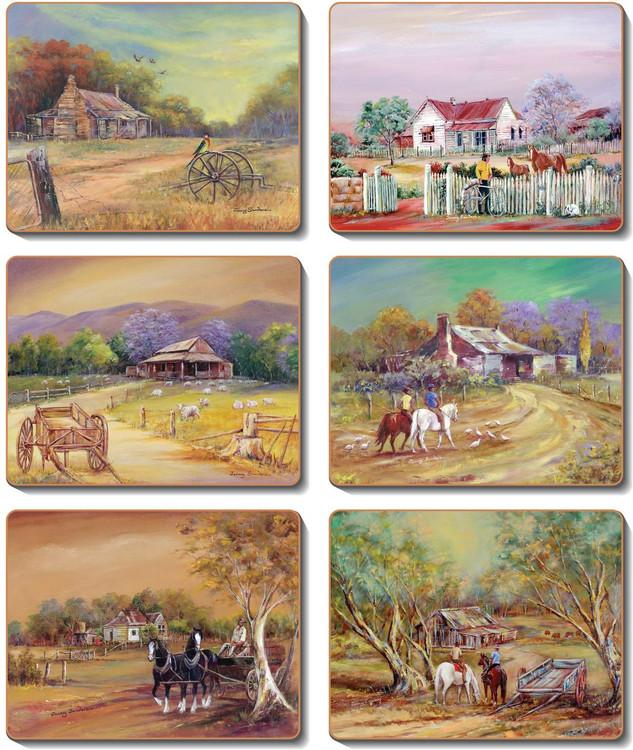 Homestead Coasters