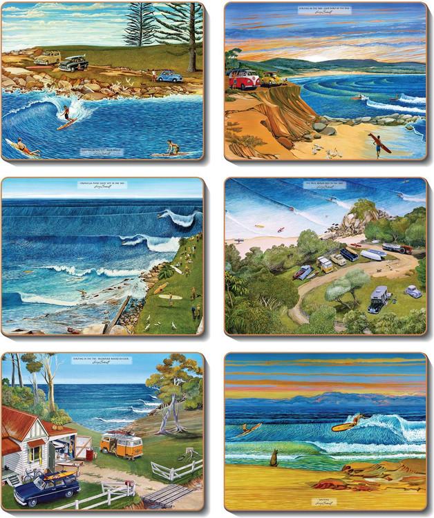 Surf Safari Coasters