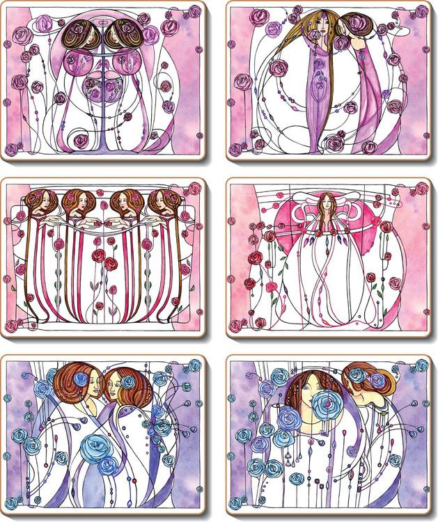 Mackintosh Coasters