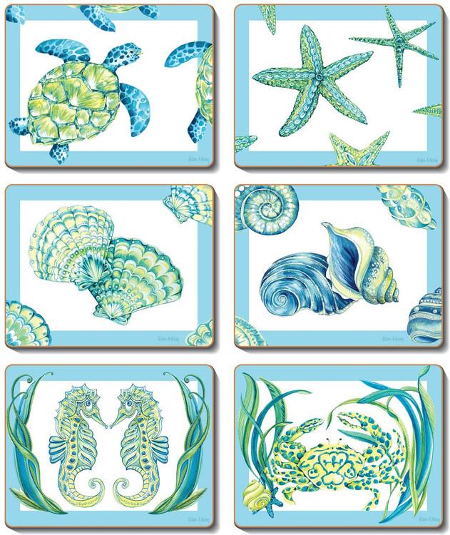 Sea Breeze Coasters
