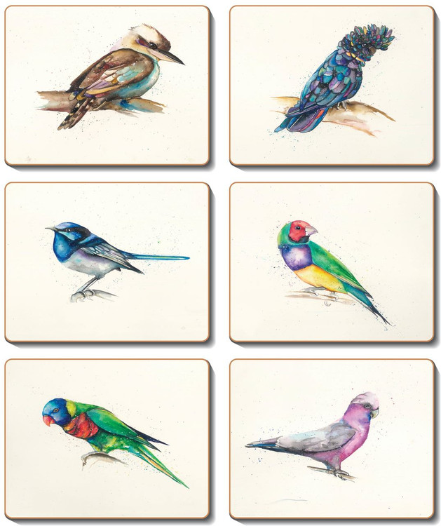 Away With The Birds Coasters