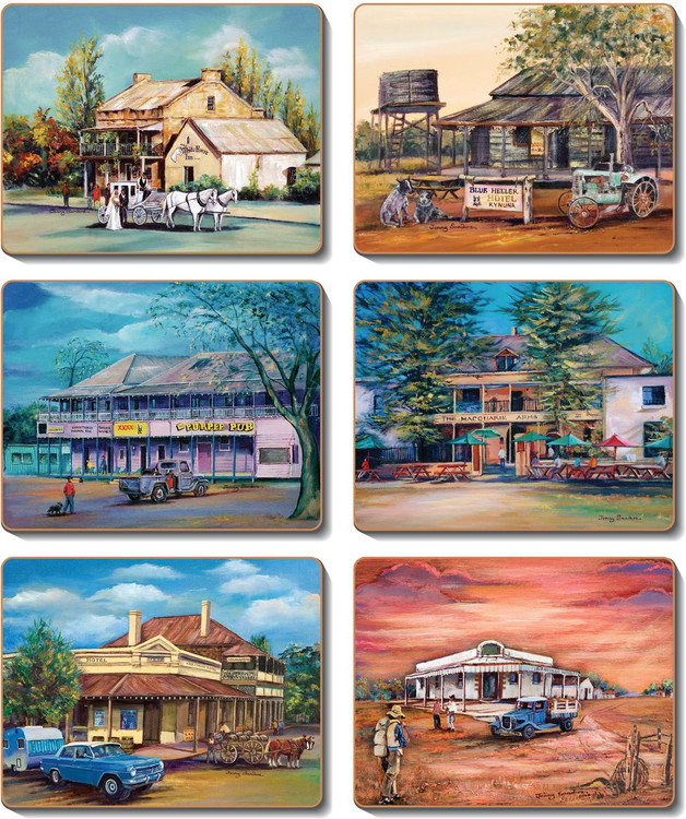 Old Hotels Coasters