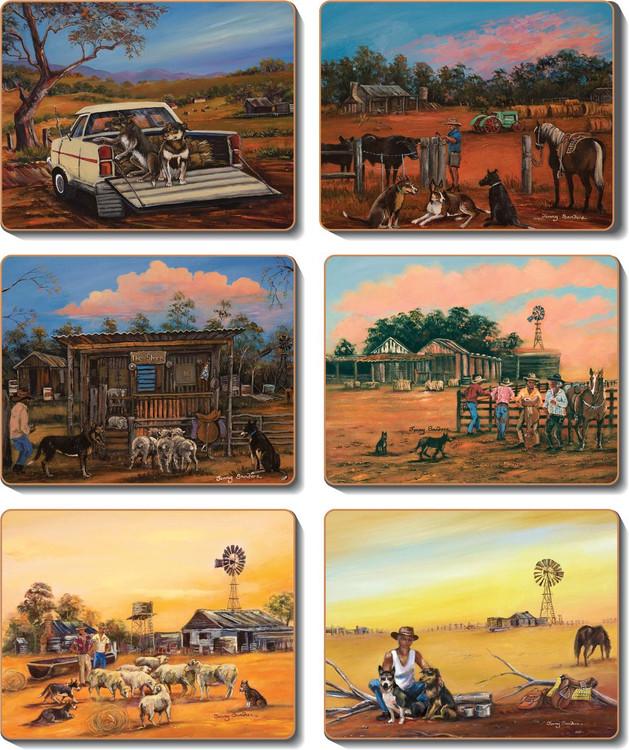 Kelpie Kapers Coasters