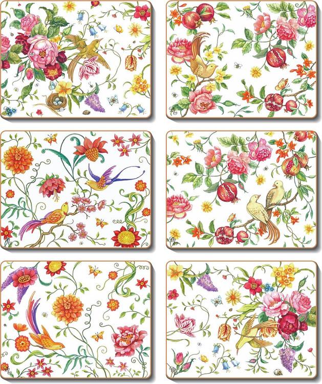 Garden Paradise Coasters