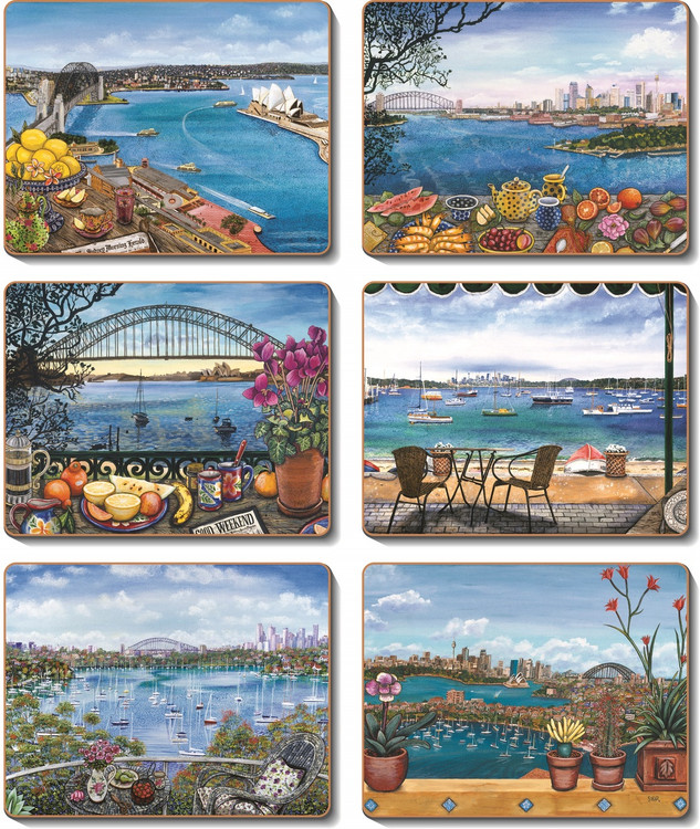 Sydney Balconies Placemats