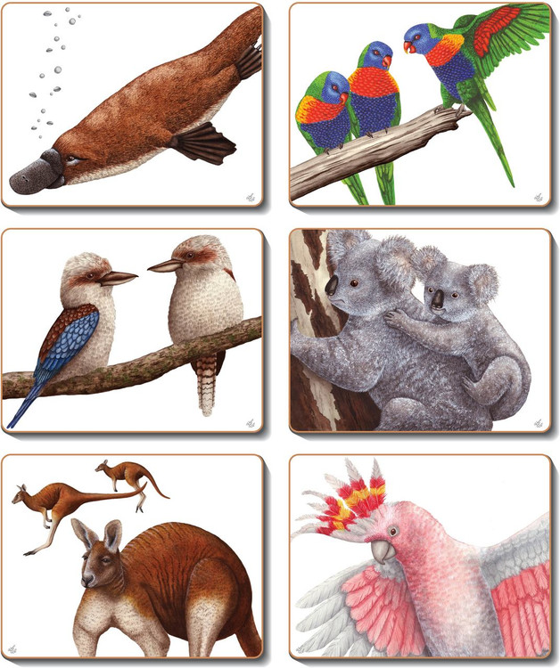 Aussie Animals Coasters