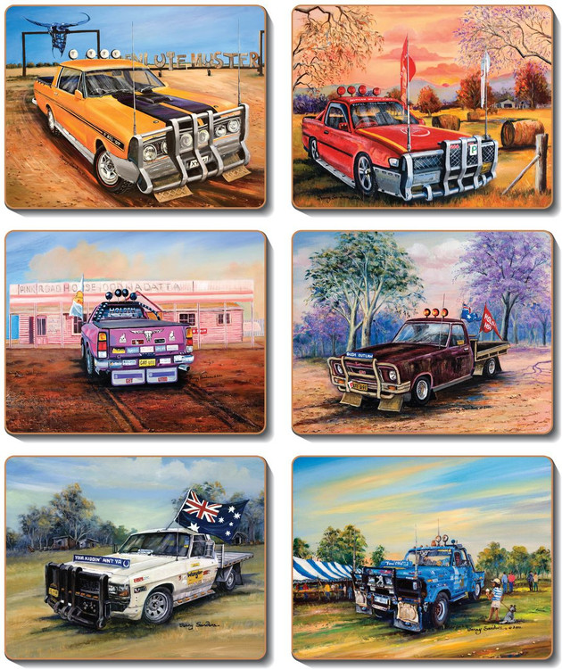 Feral Utes  Placemats