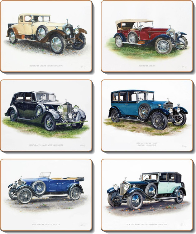 Rolls Royce Placemats