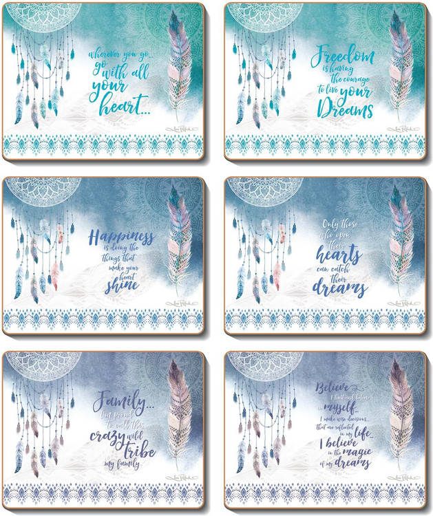 Feathers & Dreams Coasters