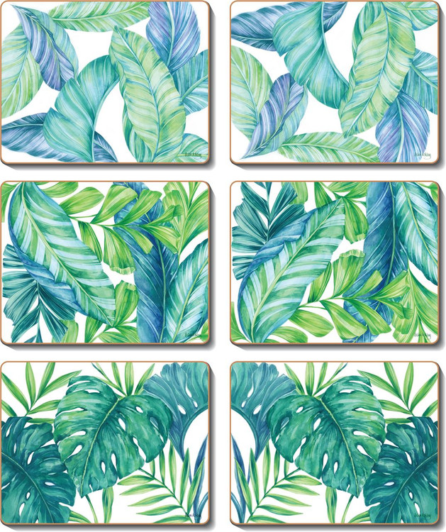 Tropical Leaves Placemats