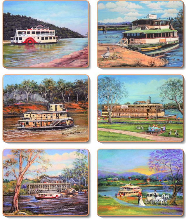 Paddle Steamers Coasters