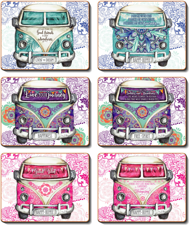 Kombie Hippie Placemats