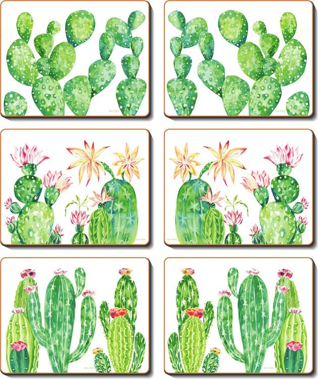 Cacti Garden Coasters
