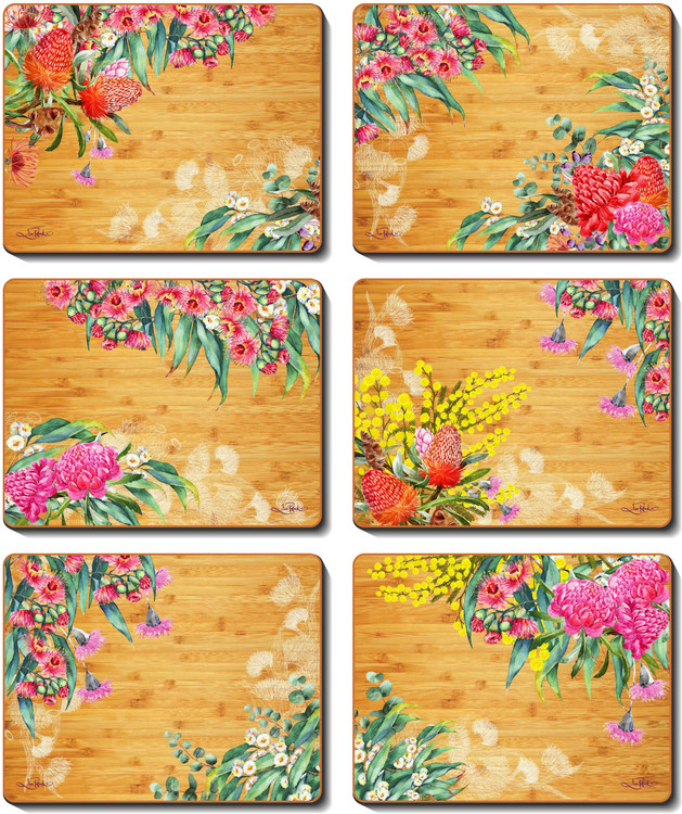 Native Flowers Placemats