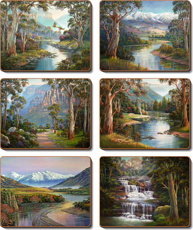 Away From It All Coasters