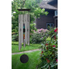 Chakra Stone Wind Chime in the Garden