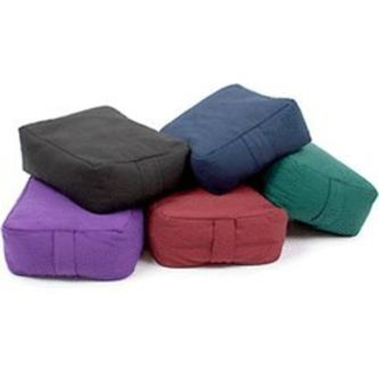 Cotton Rectangular Zen Meditation Cushion
