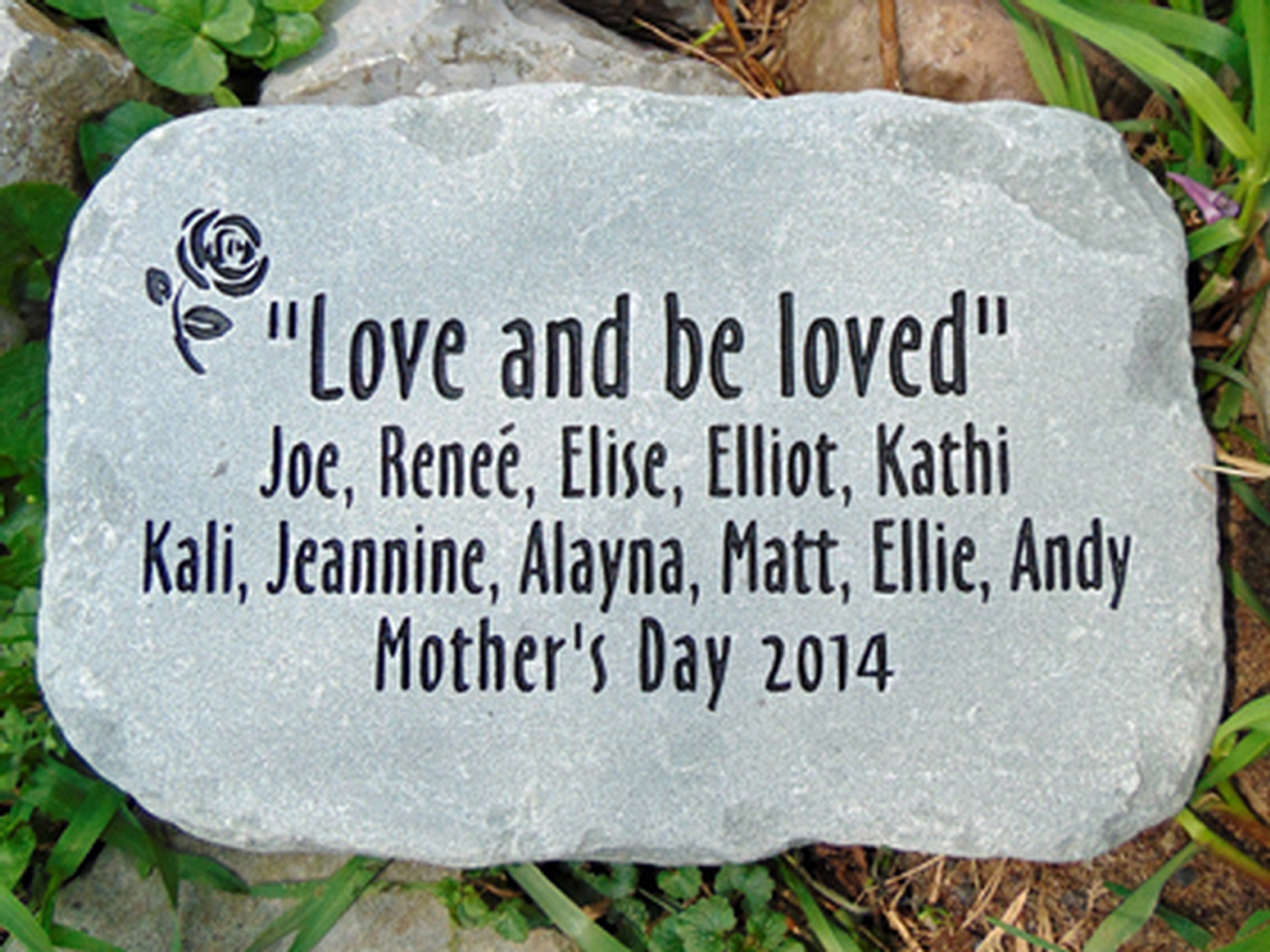 Custom Engraved Stones