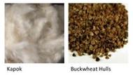 Kapok vs. Buckwheat Hulls