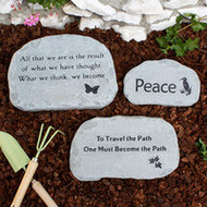 Create a Custom Meditation Garden Stone