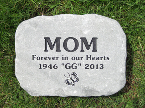 Medium Engraved Stone