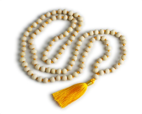 "Tulsi Wood ""Holy Basil"" Meditation Mala Prayer Beads"