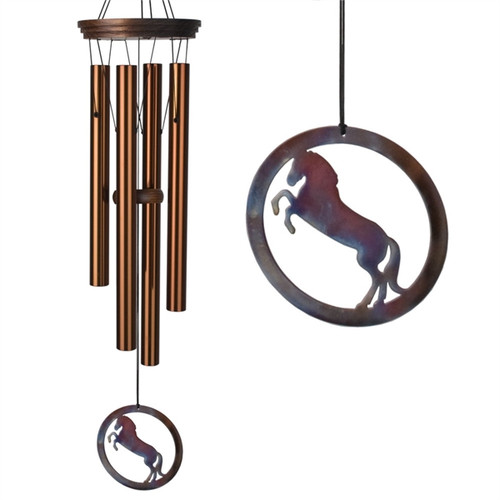 Windcatcher Detail - Equestrian Spirit Wind Chime