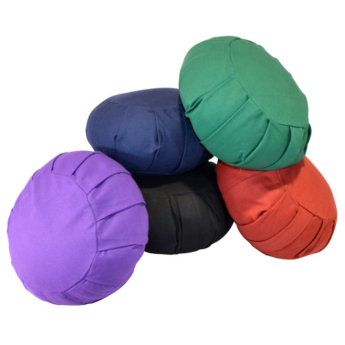 Cotton Filled Zafu Meditation Cushion