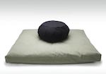 Zafu and Zabuton Meditation Cushion Pillow Set