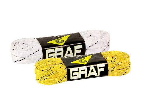 Waxed Hockey Laces from Graf