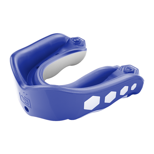 Shock Doctor Gel Max Flavored Fusion Mouth Guard - Blue Raspberry