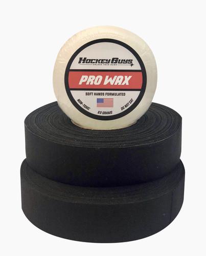 HockeyGuys Pro Stick Wax and Hockey Tape Value Pack