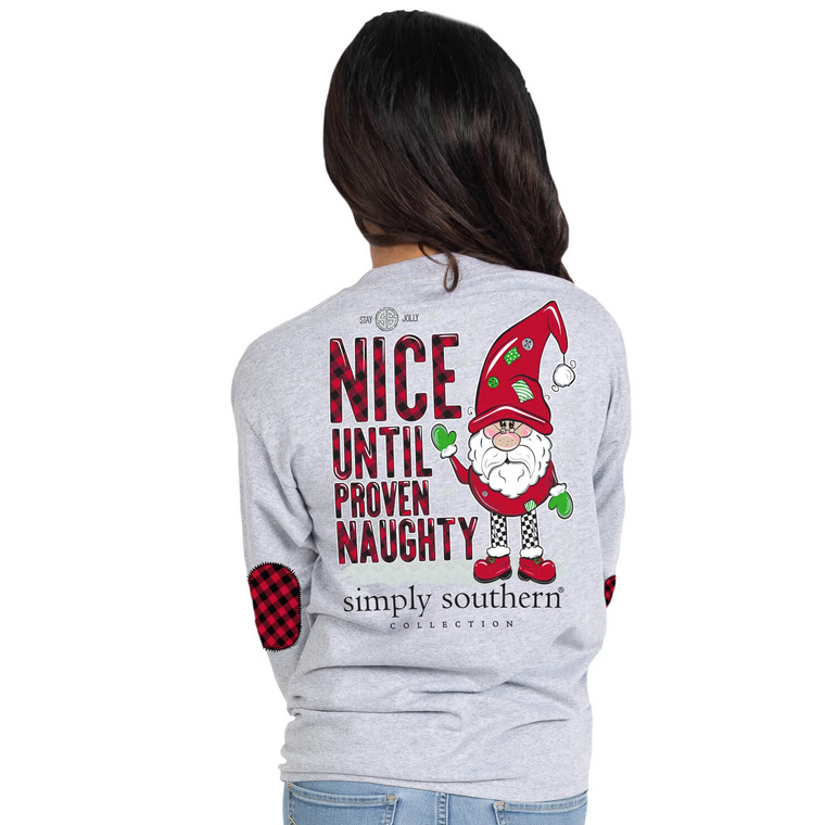 Simply Southern Naughty Or Nice Tee