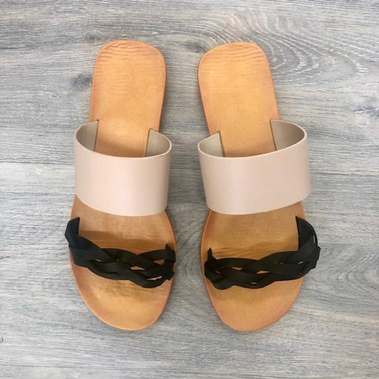 Moondance Black Sandals