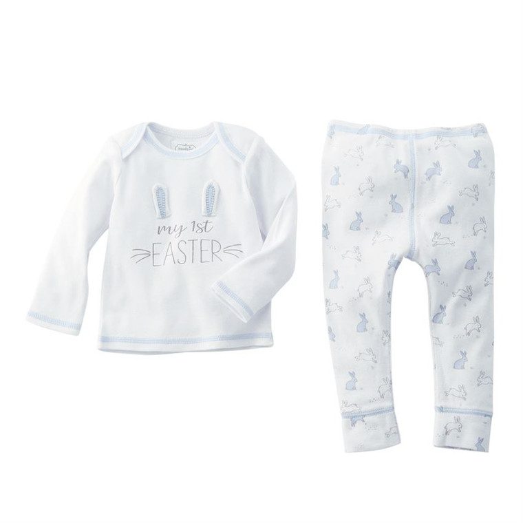 Mud Pie My First Easter Two-Piece Set - BLUE