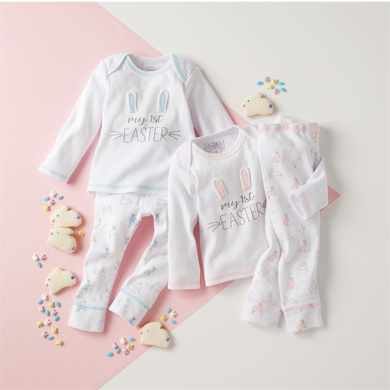 Mud Pie My First Easter Two-Piece Set - PINK