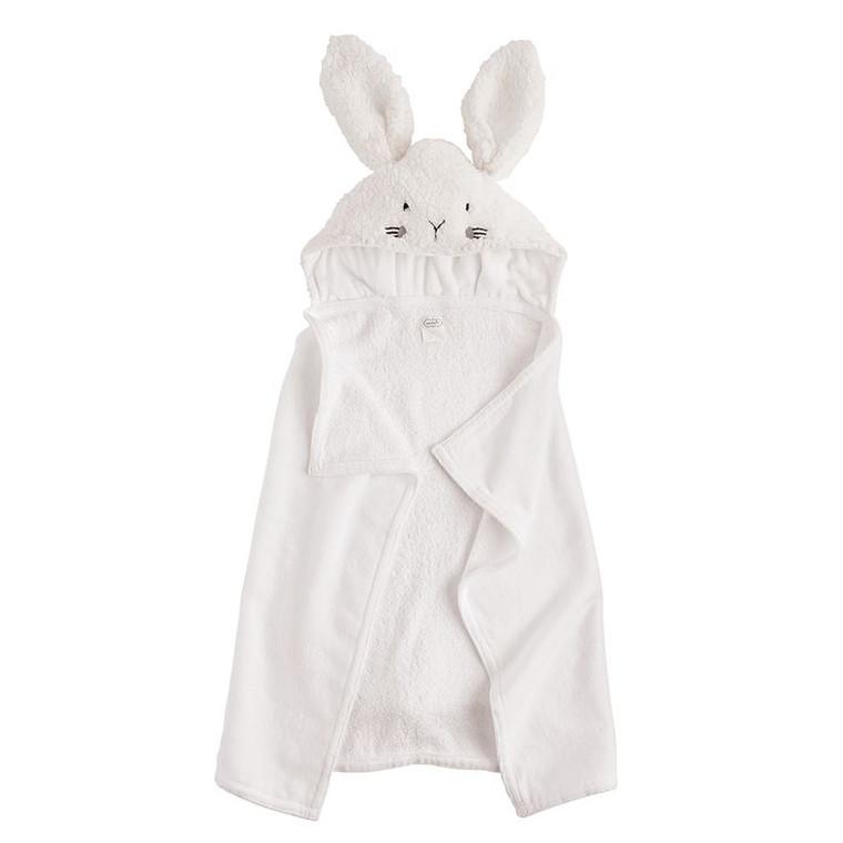 Mud Pie Bunny Hooded Towel