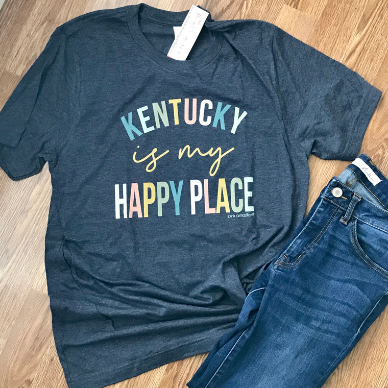 Kentucky is My Happy Place Tee
