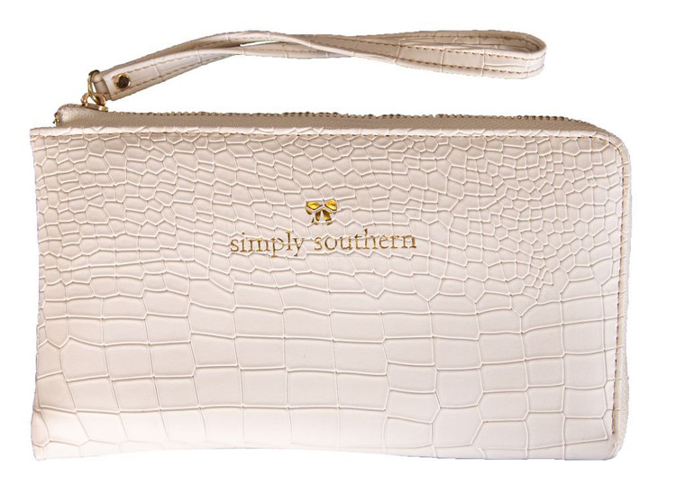 Simply Southern Leather Wristlet Wallet