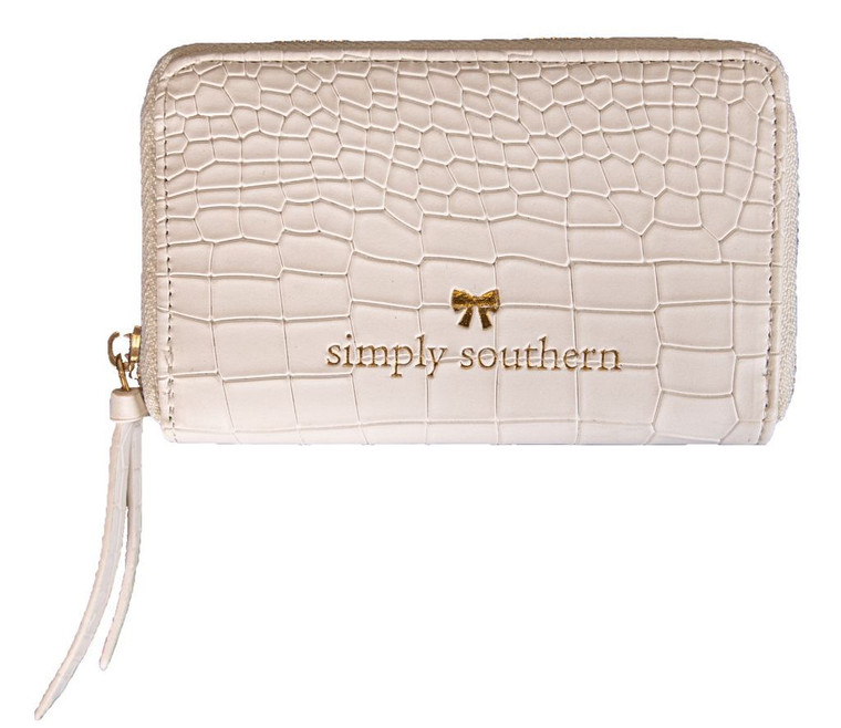 Simply Southern Leather Zip Wallet