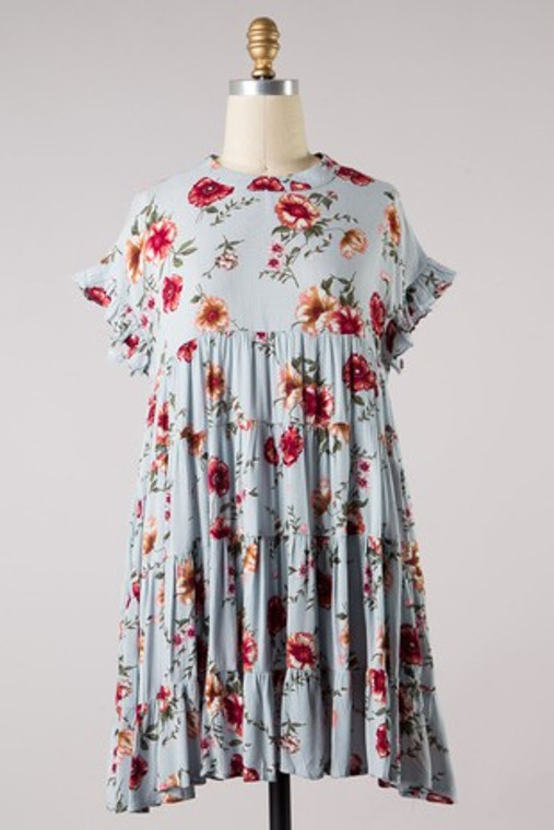 Hayden Floral Baby Doll Dress