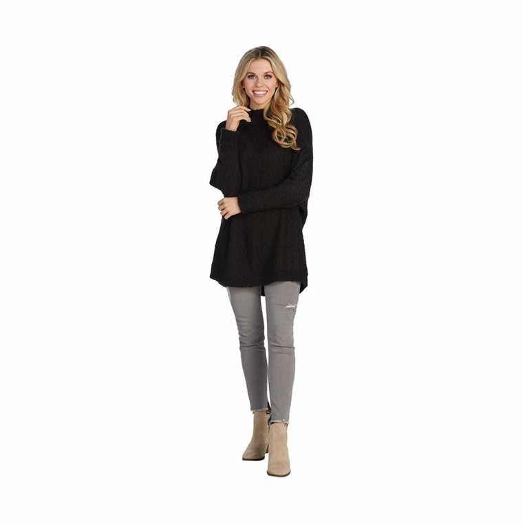 Mud Pie Holly Sweater - Black